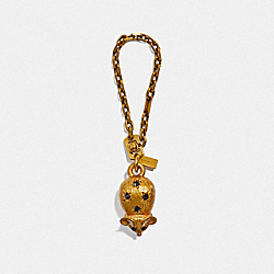 JEWELED MOUSE BAG CHARM - F39969 - B4/BRASS