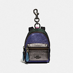 COACH F39972 - MINI BACKPACK IN COLORBLOCK MULTI/BLACK ANTIQUE NICKEL