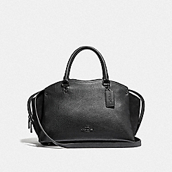COACH DREW SATCHEL - F40862 - GM/BLACK