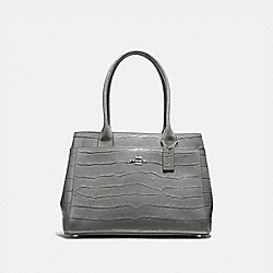 CASEY TOTE - F41119 - HEATHER GREY/SILVER