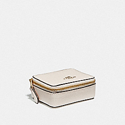 COACH F41289 Triple Pill Box CHALK/LIGHT GOLD