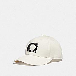 COACH F43038 - VARSITY C CAP CHALK