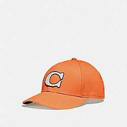 COACH F43038 - VARSITY C CAP ORANGE