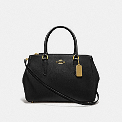 LARGE SURREY CARRYALL - F44955 - BLACK/IMITATION GOLD
