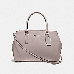 COACH F44955 - LARGE SURREY CARRYALL GREY BIRCH/SILVER
