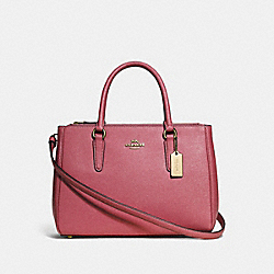 COACH F44958 - SURREY CARRYALL STRAWBERRY/LIGHT GOLD