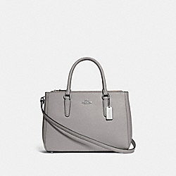 COACH F44958 Surrey Carryall GREY BIRCH/SILVER