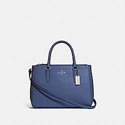 SURREY CARRYALL - F44958 - DARK PERIWINKLE/SILVER