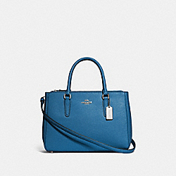 COACH F44958 - SURREY CARRYALL SKY BLUE/SILVER