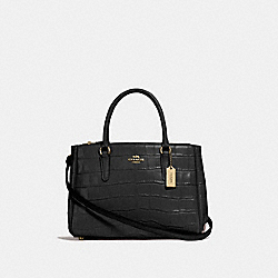 COACH F44960 - SURREY CARRYALL BLACK/GOLD