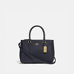 MINI SURREY CARRYALL - F44962 - MIDNIGHT/GOLD