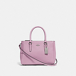 MINI SURREY CARRYALL - F44962 - LILAC/SILVER