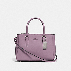 MINI SURREY CARRYALL - F44962 - JASMINE/SILVER