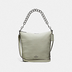 COACH F45028 Mini Abby Duffle PALE GREEN/SILVER