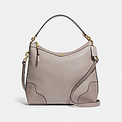 COACH F46283 Ivie Hobo GREY BIRCH/LIGHT GOLD