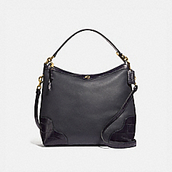 COACH F46283 Ivie Hobo MIDNIGHT/LIGHT GOLD