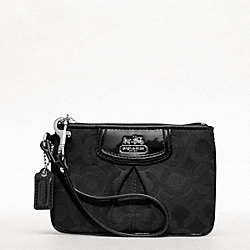 COACH F46645 Madison Op Art Sateen Small Wristlet