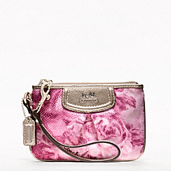 COACH F47595 Madison Floral Small Wristlet