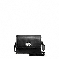 COACH F48005 - LEATHER MINI CROSSBODY ONE-COLOR