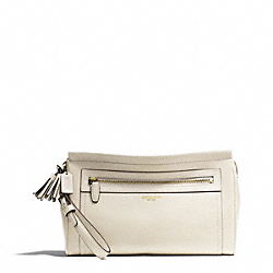 COACH F48021 Leather Large Clutch