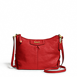 COACH F48121 - ASHLEY LEATHER SWINGPACK BRASS/CHERRY