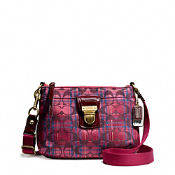 COACH F48426 - POPPY TARTAN SWINGPACK ONE-COLOR