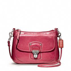COACH F48428 - POPPY LEATHER MINI GROOVY CROSSBODY ONE-COLOR