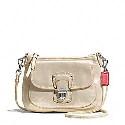 COACH F48428 Poppy Leather Mini Groovy Crossbody