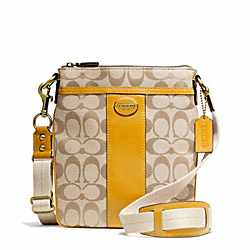 COACH F48452 Signature Swingpack
