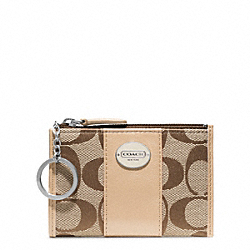 COACH F48454 Signature Mini Skinny