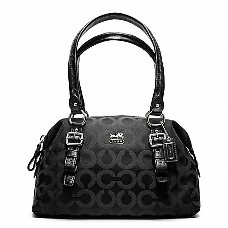COACH F48540 MADISON OP ART SATEEN SMALL BAG ONE-COLOR