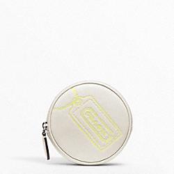 COACH F48558 Motif Round Coin Purse