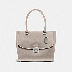 AVARY TOTE - F48629 - GREY BIRCH/SILVER