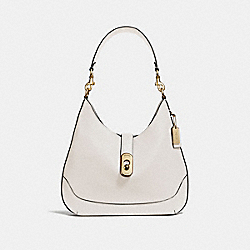 AMBER HOBO - F48635 - CHALK/IMITATION GOLD