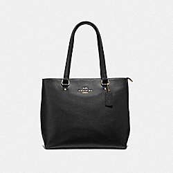COACH F48637 - BAY TOTE BLACK/IMITATION GOLD