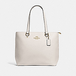 BAY TOTE - F48637 - CHALK/IMITATION GOLD