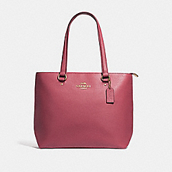 COACH F48637 Bay Tote STRAWBERRY/IMITATION GOLD