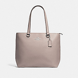 COACH F48637 - BAY TOTE GREY BIRCH/SILVER