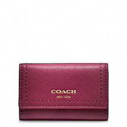 COACH F48661 Leather Six Ring Key Case