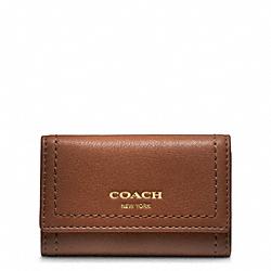 COACH F48661 Leather Six Ring Key Case