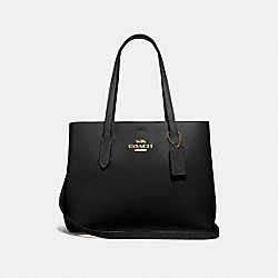COACH F48733 - AVENUE CARRYALL BLACK/RED/IMITATION GOLD