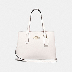 AVENUE CARRYALL - F48733 - CHALK/WINE/IMITATION GOLD