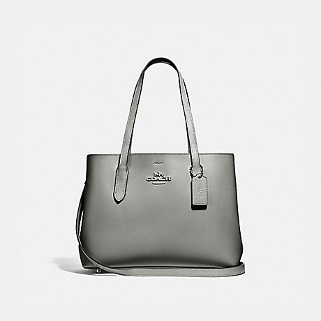 COACH F48734 AVENUE CARRYALL SV/GUNMETAL-BLACK