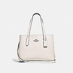 COACH F48734 - AVENUE CARRYALL CHALK/ROSE GOLD/SILVER