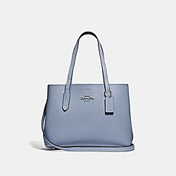AVENUE CARRYALL - F48734 - STEEL BLUE/METALLIC SILVER