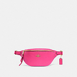 COACH F48738 Belt Bag PINK RUBY/GOLD