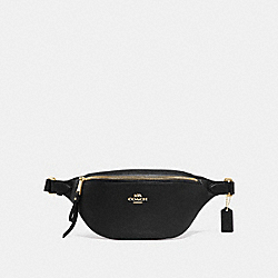 COACH F48738 - BELT BAG BLACK/GOLD