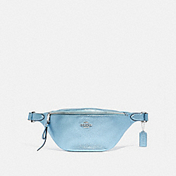 COACH F48739 Belt Bag METALLIC ICE/SILVER