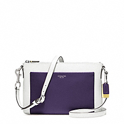 COACH F48872 - COLORBLOCK LEATHER EAST/WEST SWINGPACK ONE-COLOR
