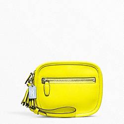 COACH F48874 Archival Leather Hadley Clutch